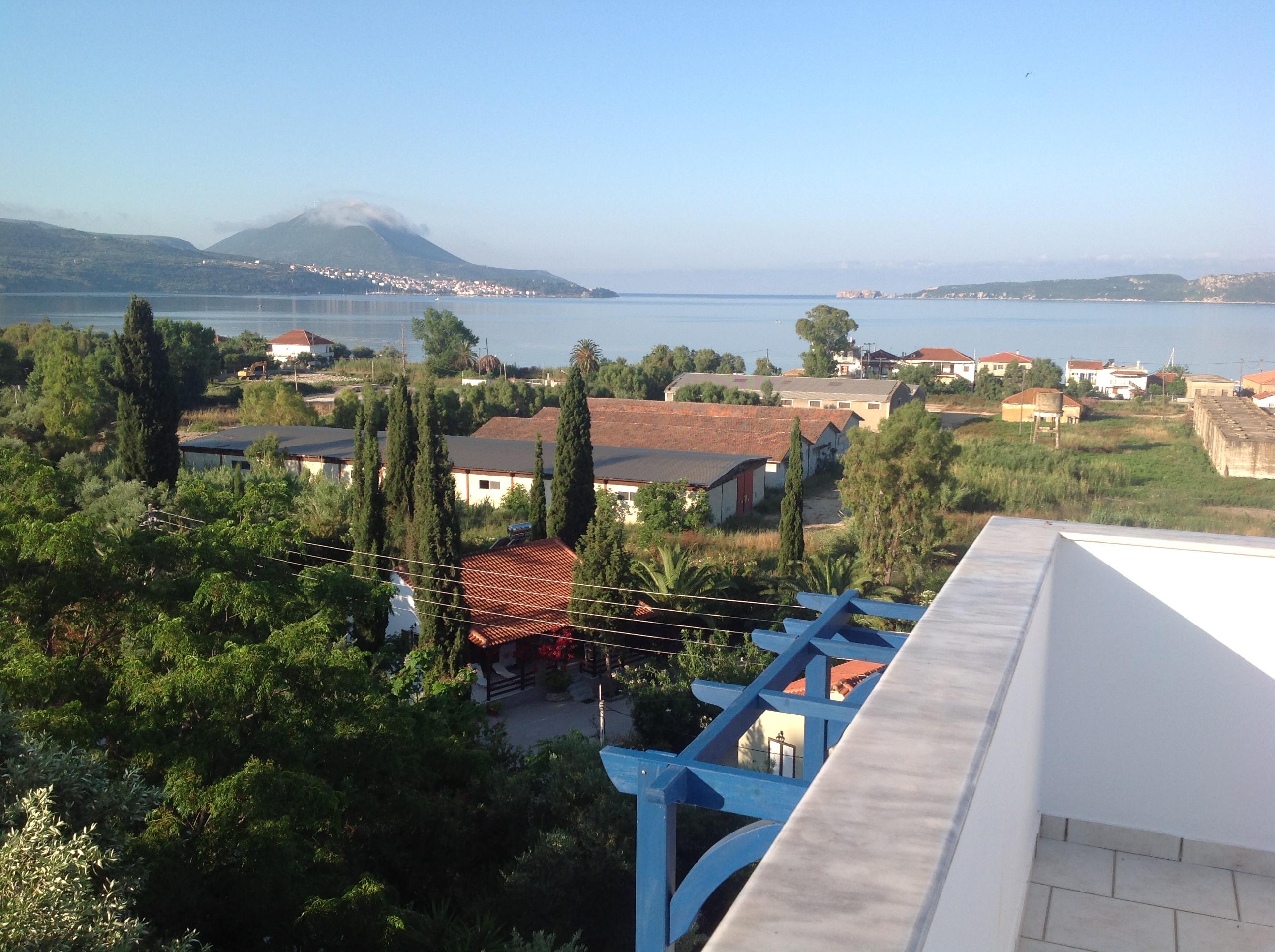 Fantastische Dachterrasse (Villa Andrea) mit Meerblick